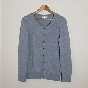 5 Gap Made with Cashmere Grey Cardigan
